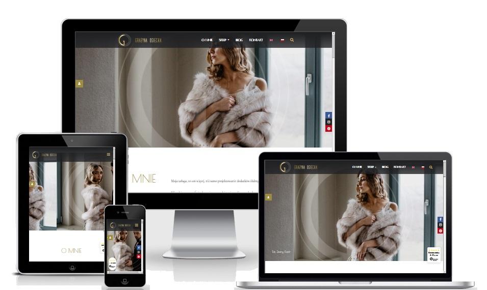 Strony www Sklepy online ALD Studio